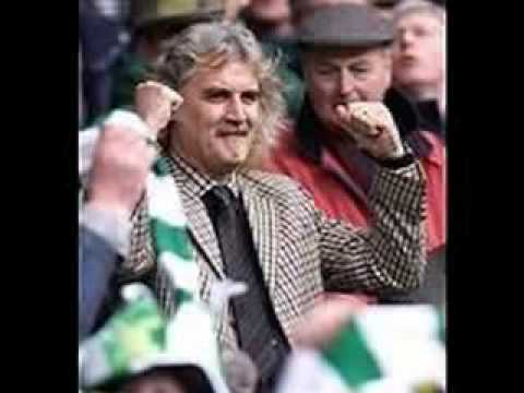 Celebrity Celtic Supporters - YouTube
