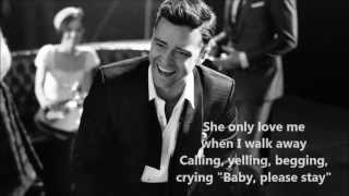 Justin Timberlake - Only When I Walk Away (Lyrics)