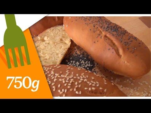 Recette de Pain à hot-dog - 750 Grammes