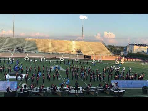 Brandeis Bronco 2018-19 Marching Band UIL Competition