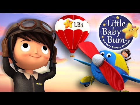 Song About Planes  Nursery Rhymes  Original Song  LittleBaBum!