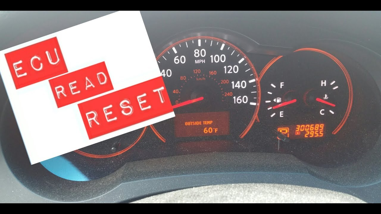 How To Read And Reset Your Car S Ecu 2009 Nissan Altima