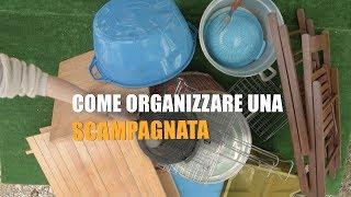 Come organizzare una SCAMPAGNATA