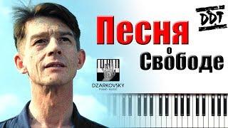 ДДТ - Песня о свободе пианино кавер | ДДТ Свобода (Иначе) | 1984 Оруэлл фильм