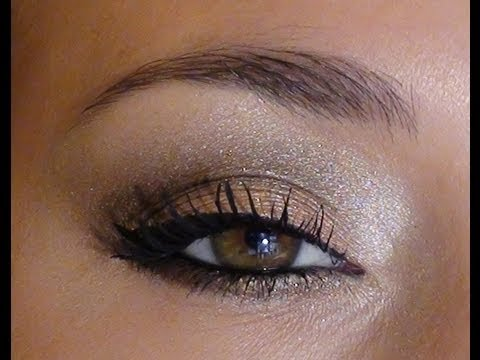 Photo maquillage naturel yeux marrons tuto