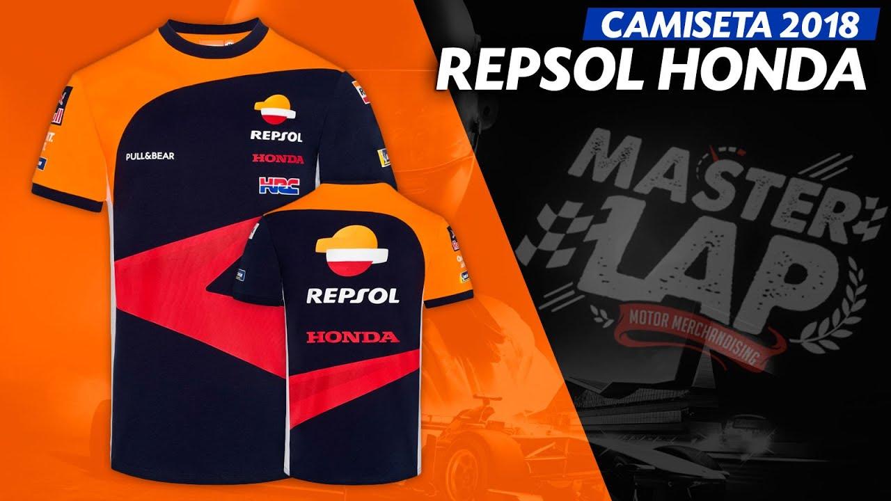 Camiseta Repsol Honda Team 2018 Equipo - YouTube 789608fe78c
