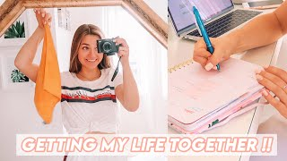 organizing my life... again (planning decluttering!)