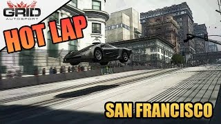 Grid Autosport Gameplay - Hot Lap - McLaren F1 GT - San Francisco