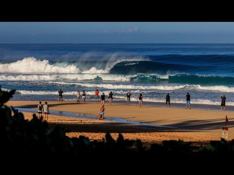 Mulit-Cam Live Replay from Pipeline, Hawaii