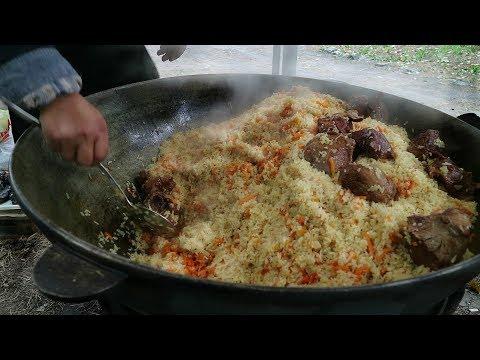 Как готовят Ферганский плов. Легкий рецепт! Сильное блюдо! | How To Cook Ferghana Pilaf