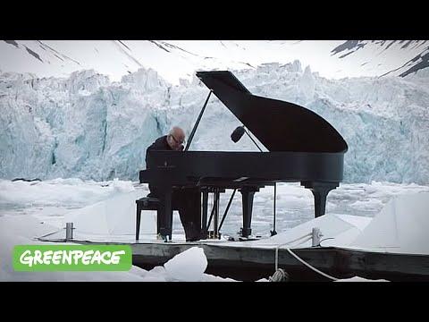 Musica per l'Artico: Ludovico Einaudi al piano fra i ghiacci