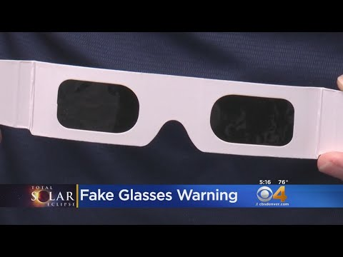 School District Says No To Students Viewing Eclipse With Glasses