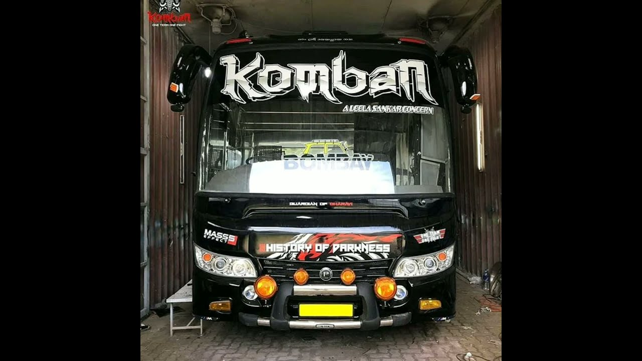 Komban Bombay Original Hd Quality Livery For Bussid