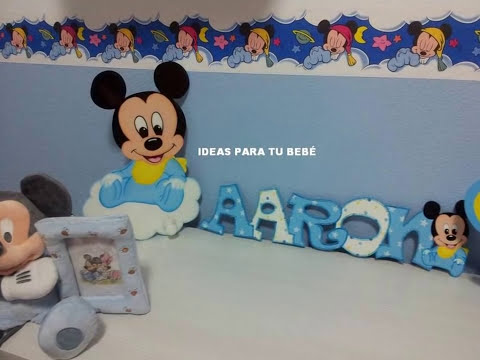 Manualidades para beb s y decoraci n infantil youtube - Bebes y decoracion ...