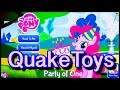 My Little Pony Story App Party Of One Pinkie Pie MLP FIM Episode 25 Game Mane 6 QuakeToys