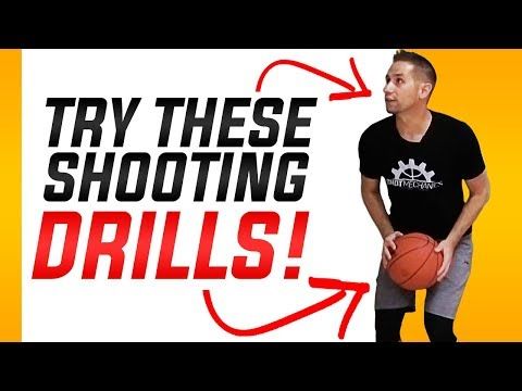 5 Basketball Shooting Drills By Yourself: Basketball Shooting Drills