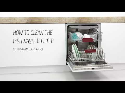 How to clean the NEFF dishwasher filter system | NEFF Home UK
