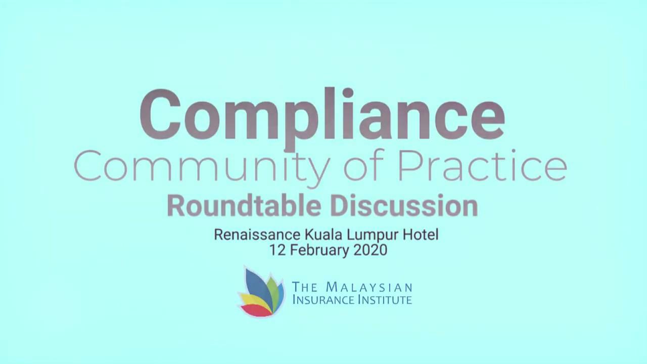 Compliance  Community Practice