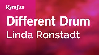 Karaoke Different Drum - Linda Ronstadt *