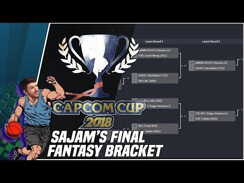 Sajam Makes his Final Capcom Cup 2018 Fantasy Bracket