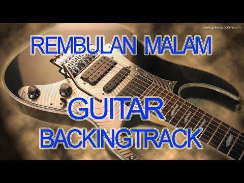 Rembulan Malam Evietamala Guitar Backingtrack Chord D minor Karaoke