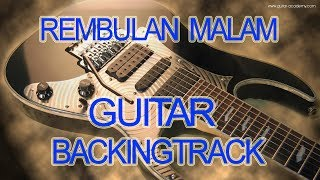 Gambar cover Rembulan Malam Evietamala Guitar Backingtrack Chord D minor Karaoke