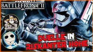 Duell in riskanter Höhe! - Star Wars Battlefront II together 212th Taha & Tombie Lets Play