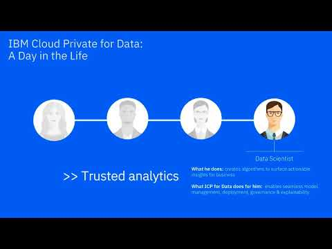 """IBM Cloud Private for Data """"Build your ladder to AI"""" use case video"""