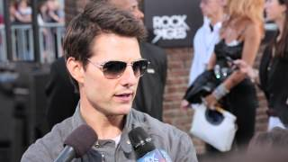 Tom Cruise Interview with Martha Quinn at Rock of Ages Movie Premiere