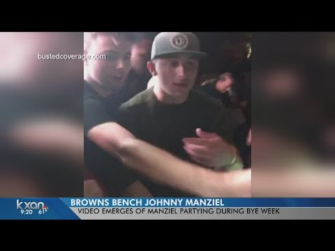 Johnny Manziel benched after Austin video surfaces