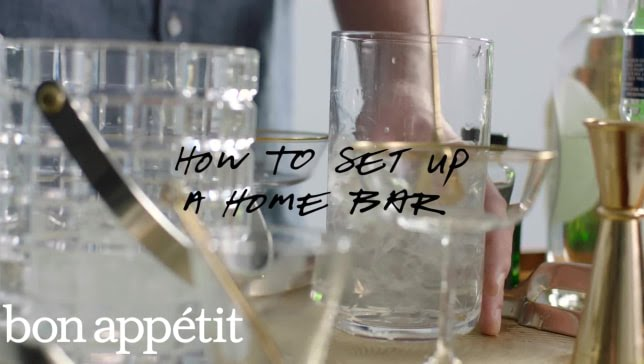 Very Entertaining: How To Set Up A Home Bar