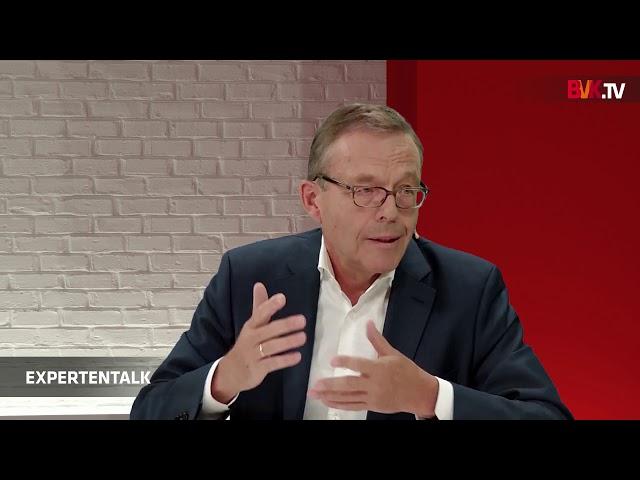 BVK-Expertentalk mit Dr. Weitnauer:
