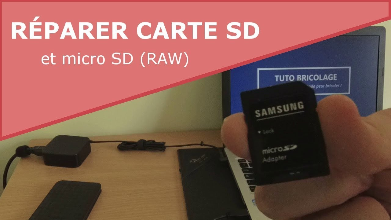 reparer carte micro sd Comment réparer une carte SD / micro SD (RAW) ?   YouTube