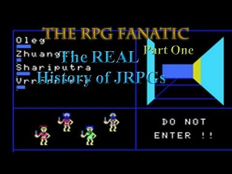 The REAL history of JRPGs / console rpgs / light rpg Part 1