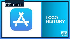 App Store (iOS) Logo History | Evologo [Evolution of Logo]