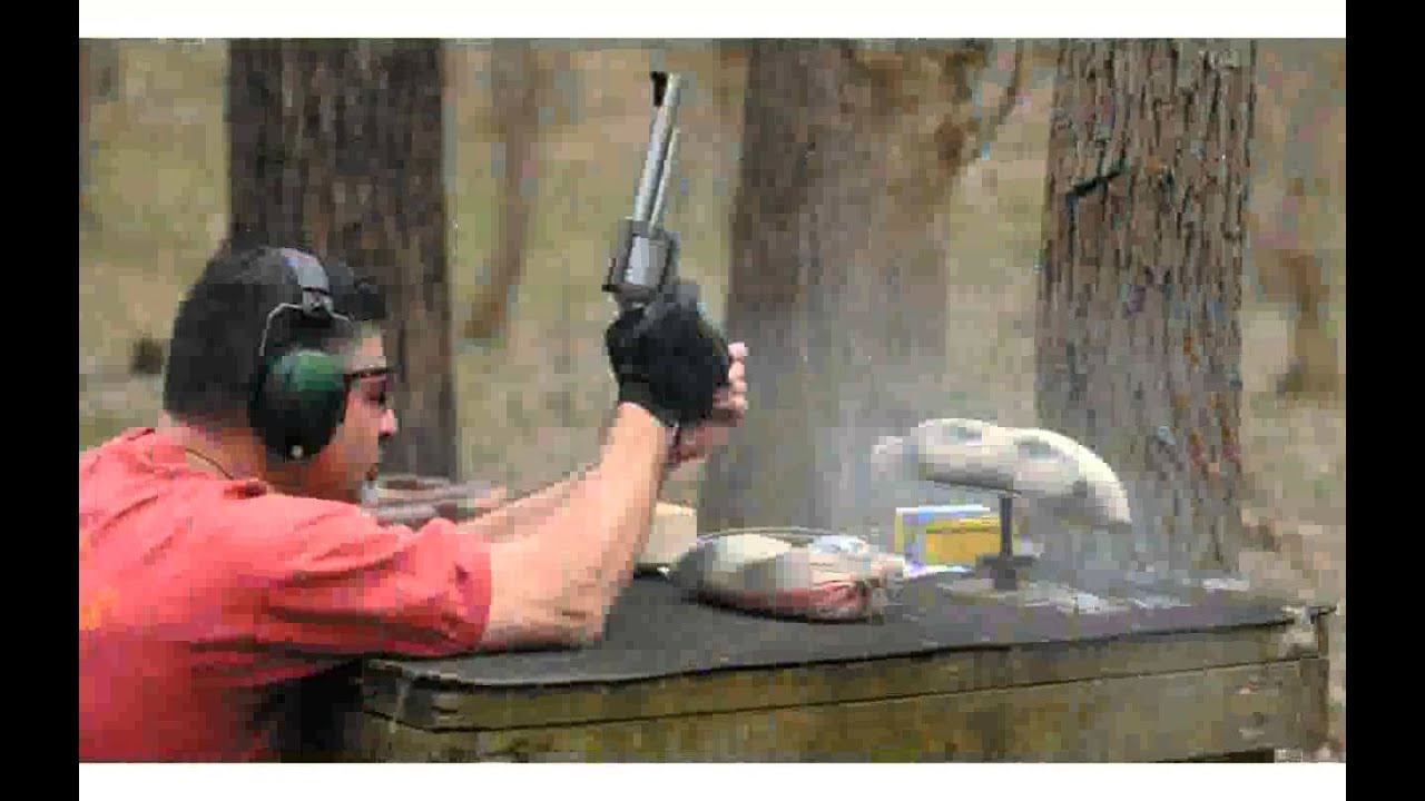 Magnum Research Bfr 500 Jrh Revolver Pictures Youtube