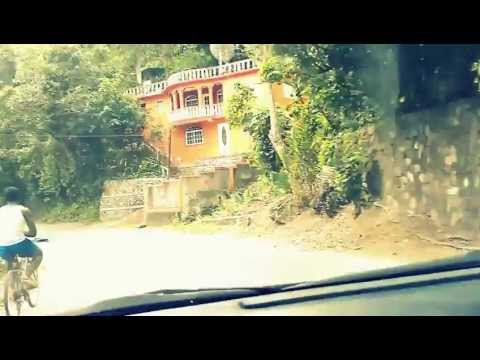 A Dangerous Drive through the Blue Mountains in Jamaica. (long, unedited)