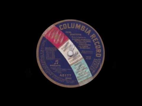 COLUMBIA ARTISTS (Acoustic): Rigoletto Quartette / Lucia Sextette (1910)