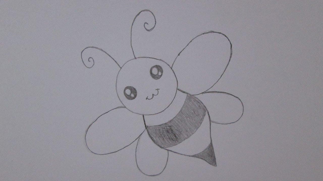 Desenhos Tumblr De Mão Estalando Como Fazer: Como Desenhar Uma Abelha