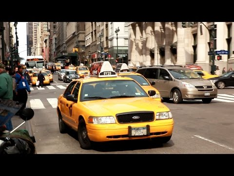 "Taxifahren In New York  – ""Driving The Big Apple"""