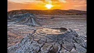 видео Грязевые вулканы Азербайджана