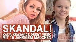 """""""Schlucken oder spucken"""" – Katja Krasavices neue Partnerin ist erst 15!"""