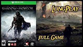 Middle-earth: Shadow of Mordor - Longplay Full Game Walkthrough (No Commentary)