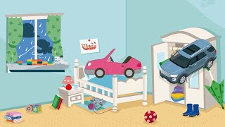 Learn the children in English: means of transport | Learning for babies: means of transport