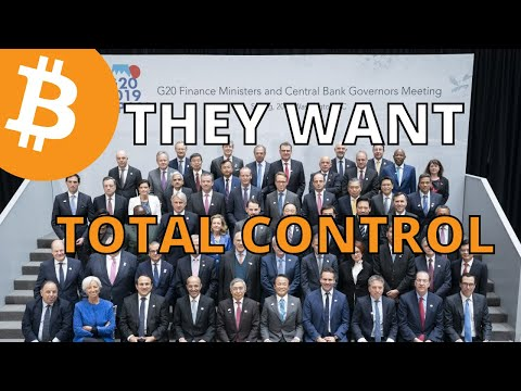 CENTRAL BANKERS HATE BITCOIN; THEY WANT TO CENSOR YOU