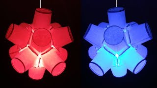 How to Make Fancy Lantern from Paper Tea Cups (Diwali and Christmas Crafts) : DIY
