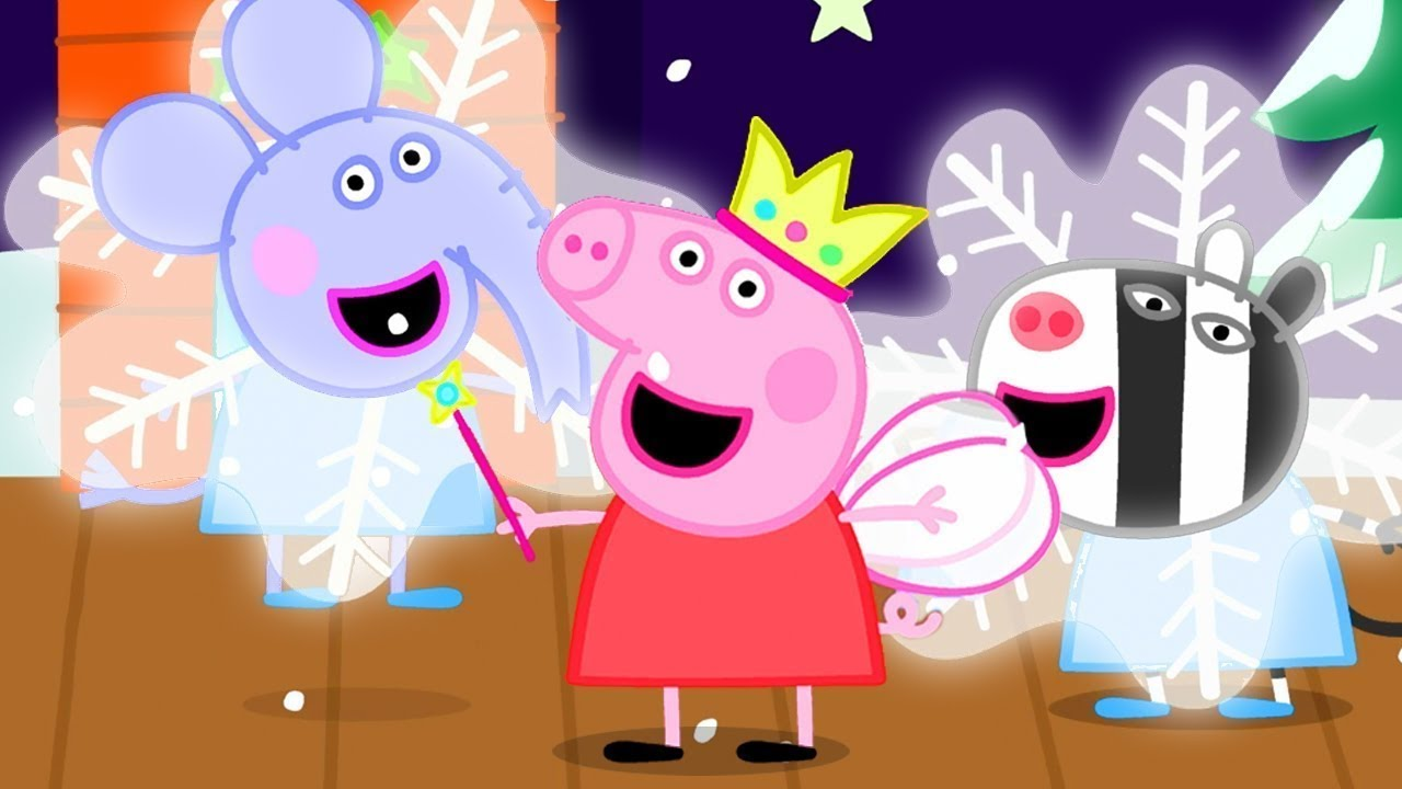 Peppa Pig in Hindi 🎄 Krisamas Kee Badhaee 🎄 हिंदी Kahaniya - Hindi Cartoons for Kids