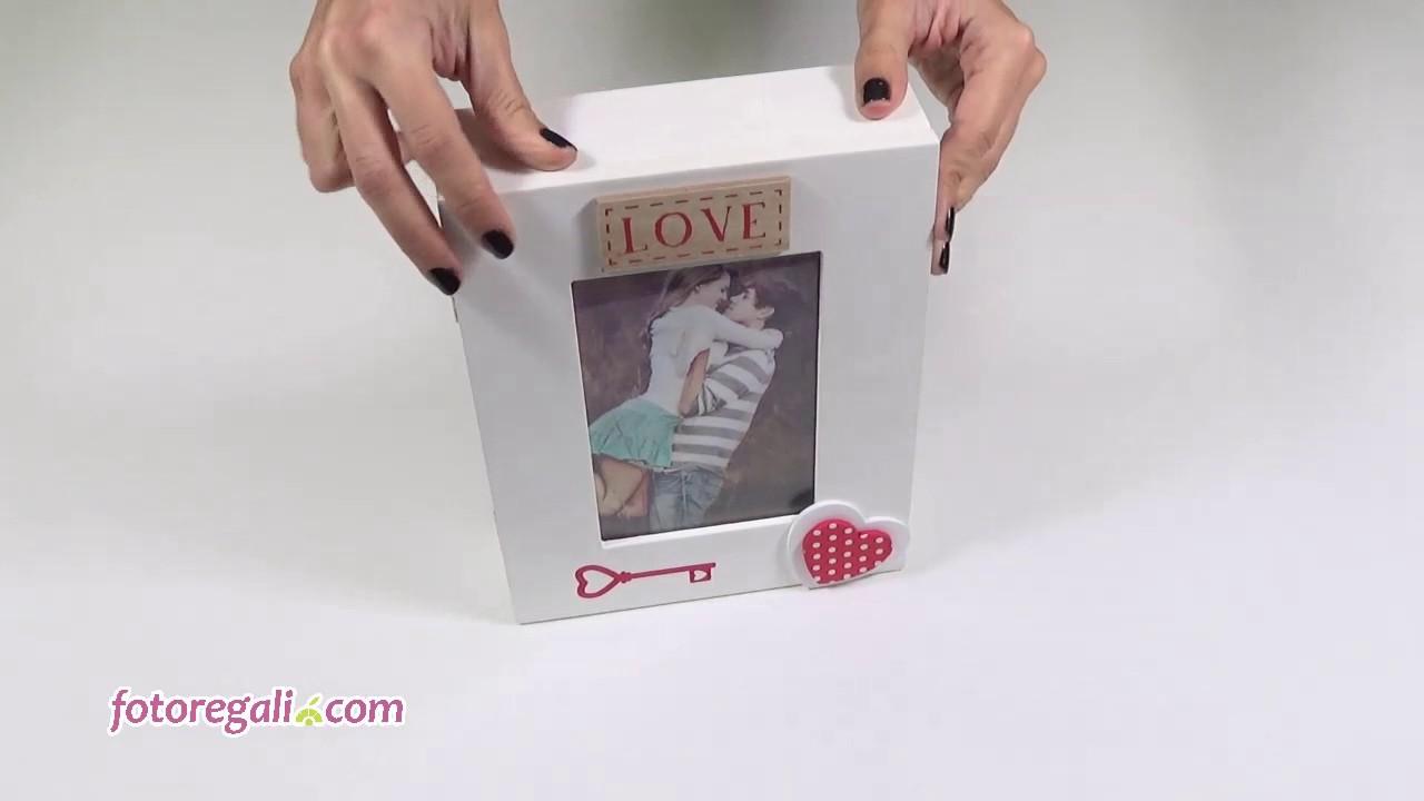 Preferenza Cassetta Portachiavi Personalizzata - YouTube FY01
