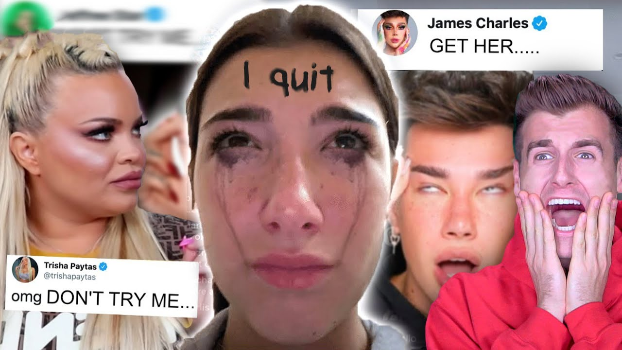 Reacting To Tik Tokers Getting Cancelled.. (Ft. Charli D'Amelio, James Charles, Trisha Paytas)