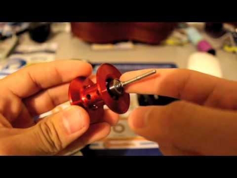 Abu Garcia Black Max Spool Bearing Upgrade